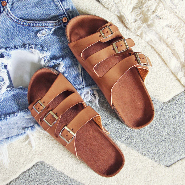 The Sandstone Sandals: Featured Product Image