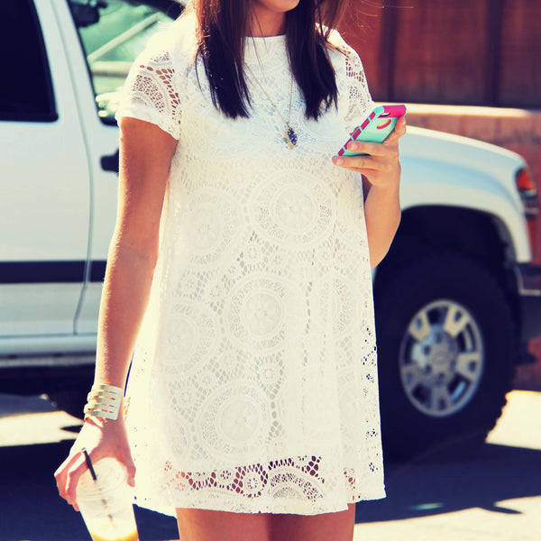 The Santa Clara Lace Dress: Featured Product Image