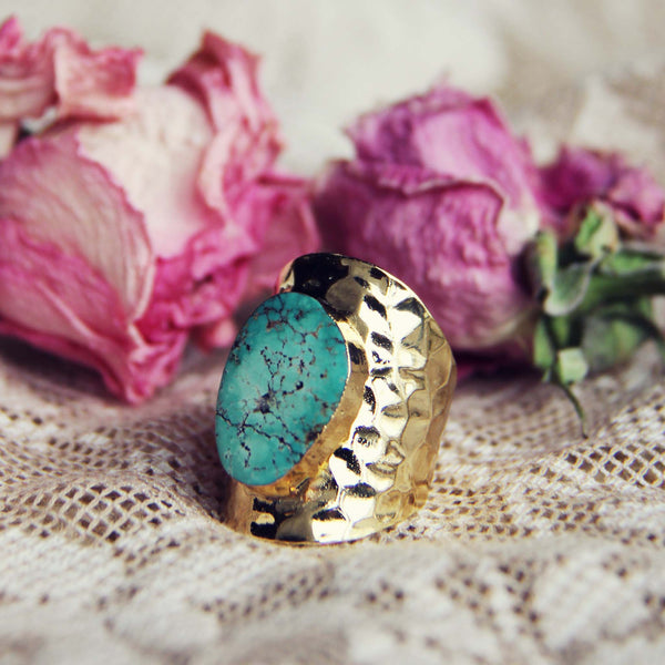 Santa Fe Turquoise Ring: Featured Product Image