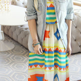 Santa Fe Maxi Dress: Alternate View #3