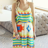 Santa Fe Maxi Dress: Alternate View #1