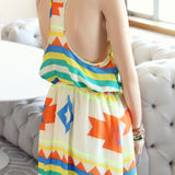 Santa Fe Maxi Dress: Alternate View #4