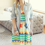 Santa Fe Maxi Dress: Alternate View #2