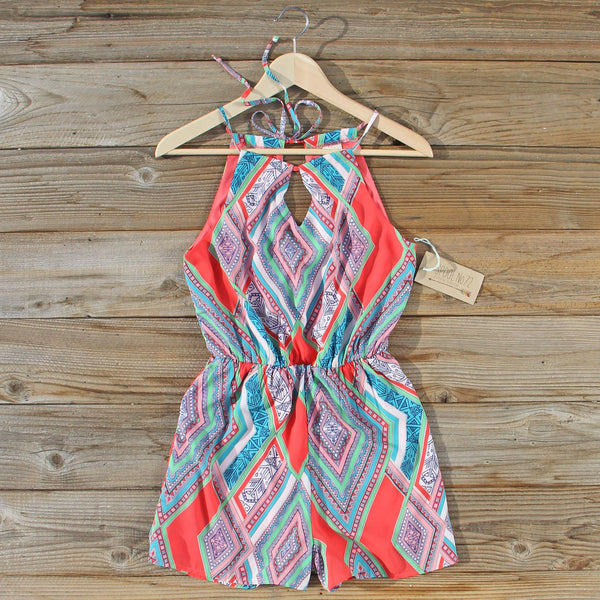 The Santorini Romper: Featured Product Image