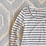 Saturday Stripe Tee: Alternate View #2
