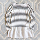 Saturday Stripe Tee: Alternate View #4