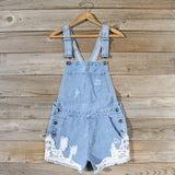 Sawyer Lace Overalls: Alternate View #1