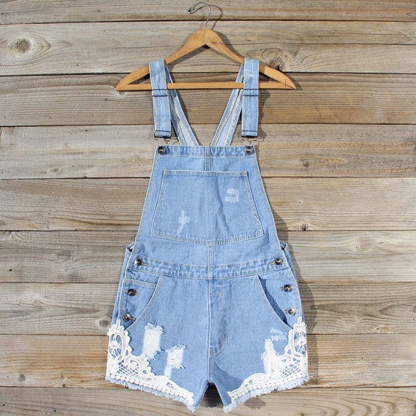 Sawyer Lace Overalls: Featured Product Image