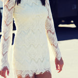 Lace & Tie Dress: Alternate View #1