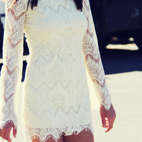 Lace & Tie Dress: Featured Product Image