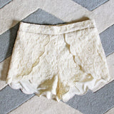 Scalloped Lace Shorts: Alternate View #2