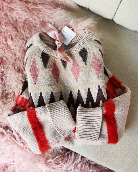 Scandinavian Knit Sweater: Featured Product Image