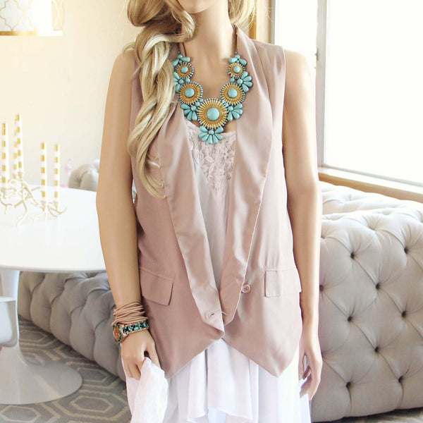 Scout Boho Vest: Featured Product Image