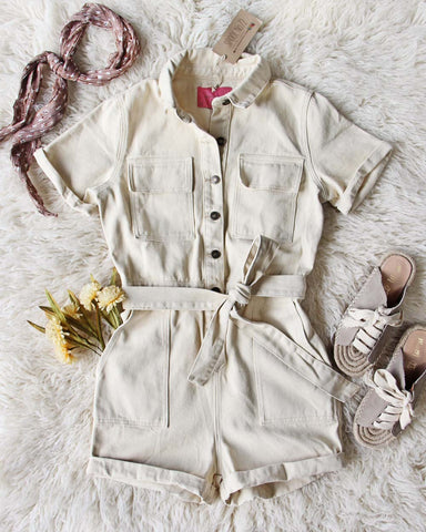 Scout Coveralls in Sand