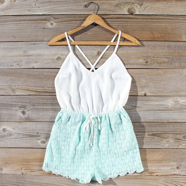 Sea Lace Romper: Featured Product Image
