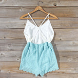 Sea Lace Romper in Sky: Alternate View #4