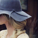 The Sedona Floppy Hat in Gray: Alternate View #2