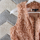 The Teddy Vest in Blush: Alternate View #2