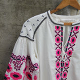 Saskatoon Boho Jacket in White (wholesale): Alternate View #4