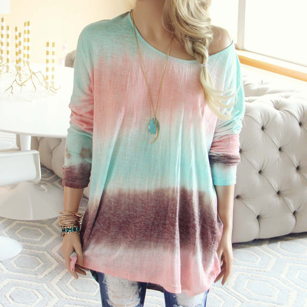 Ombre Tide Tee: Featured Product Image