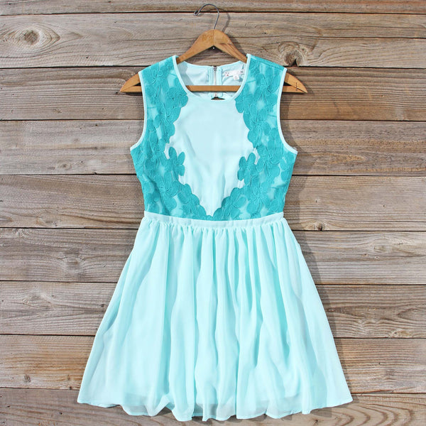 Shadow Dance Dress in Sky: Featured Product Image