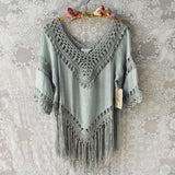 Sage Grass Tunic: Alternate View #1