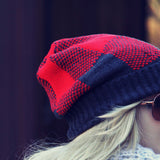 The Shadow Plaid Beanie: Alternate View #2
