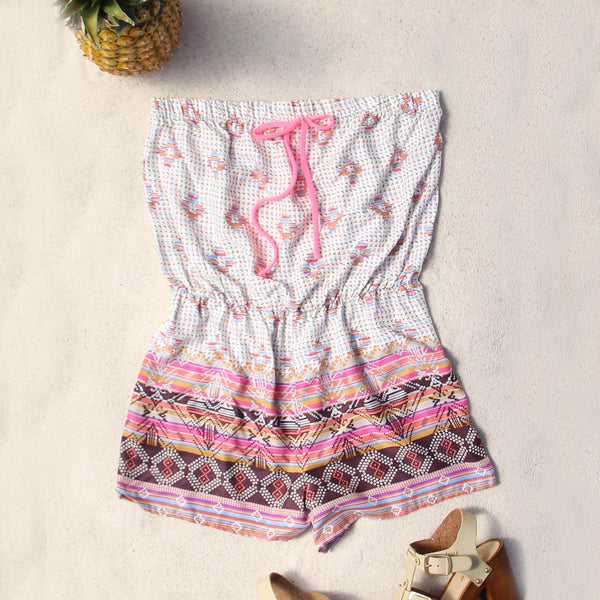 Shadow Palm Romper: Featured Product Image