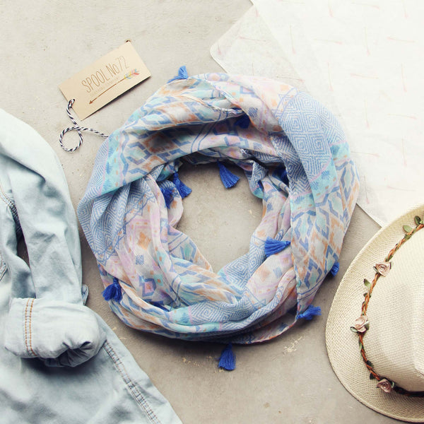 Shallow Blue Scarf: Featured Product Image