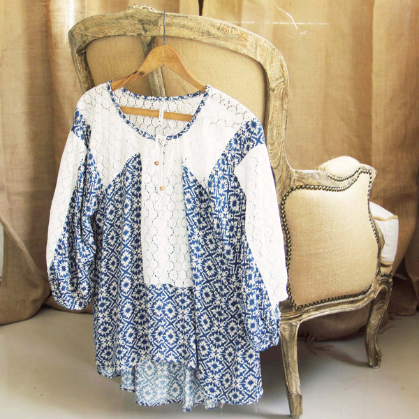 Shallow Blue Tunic: Featured Product Image