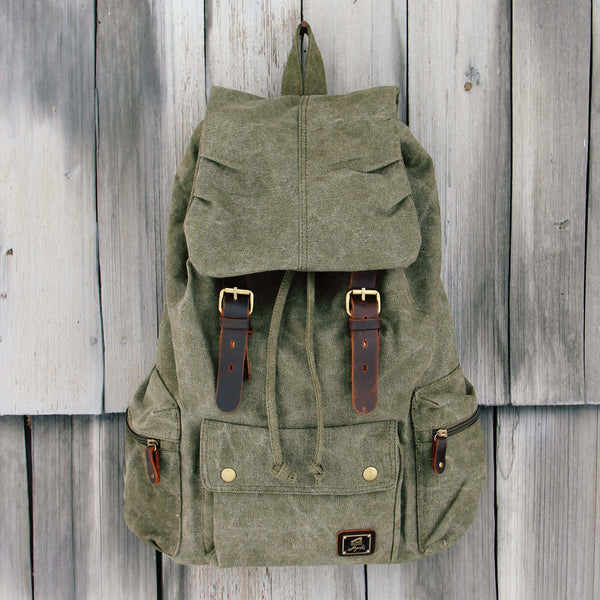 Shallow Creek Backpack in Sage: Featured Product Image