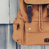 Shallow Creek Backpack in Tobacco: Alternate View #2