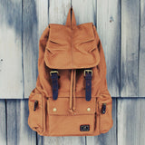 Shallow Creek Backpack in Tobacco: Alternate View #1