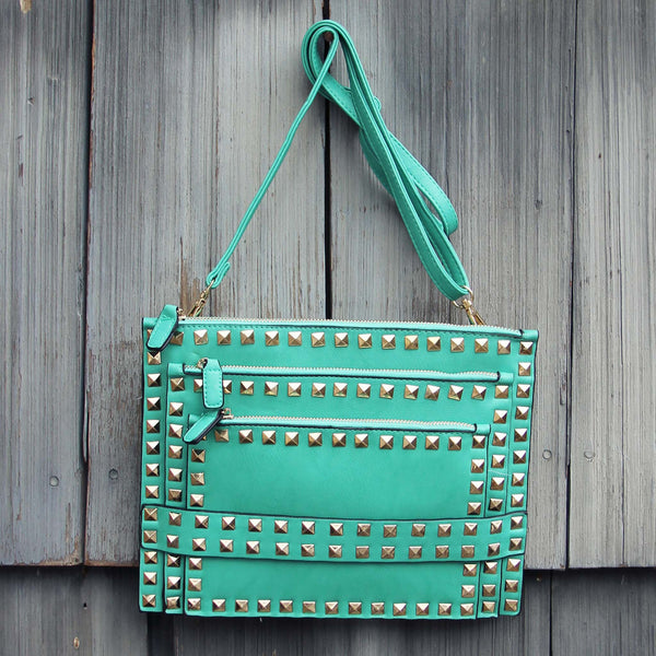 Shooting Arrow Cross Body Bag in Mist: Featured Product Image