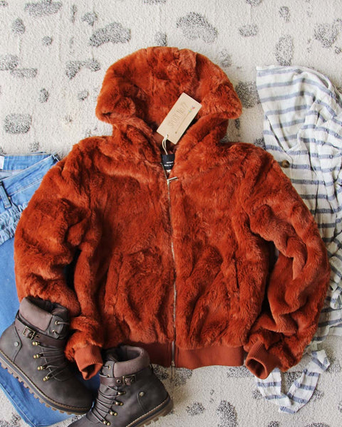 Sienna Sky Fur Coat: Featured Product Image