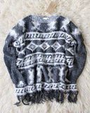 Skagit Blanket Sweater: Alternate View #1