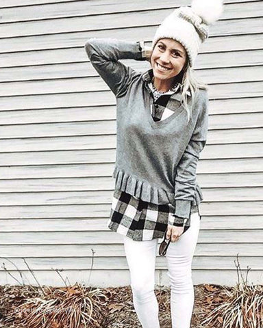 Ski Lodge Plaid Flannel in Buffalo