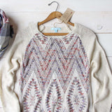 Sky Fringe Sweater: Alternate View #2