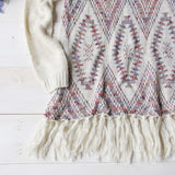 Sky Fringe Sweater: Alternate View #3