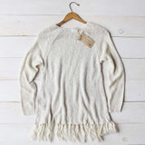 Sky Fringe Sweater: Alternate View #4