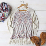 Sky Fringe Sweater: Alternate View #5