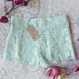 Sky Lace Shorts: Alternate View #3