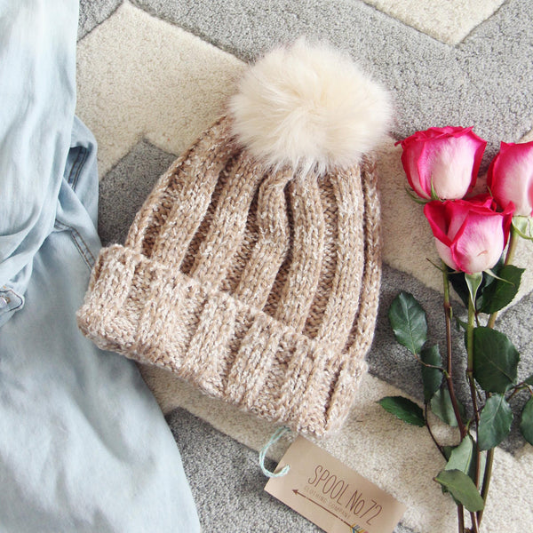 Skye Knit Cozy Beanie: Featured Product Image