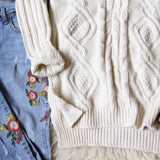 Sleepy Saturday Sweater: Alternate View #4