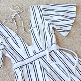 Smoke Signal Romper: Alternate View #2