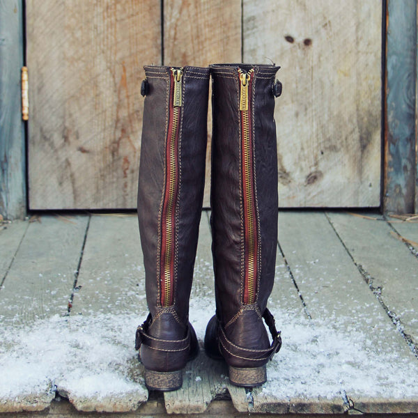 Smokestack Boots in Chestnut: Featured Product Image