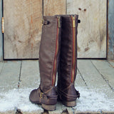 Smokestack Boots in Chestnut: Alternate View #2