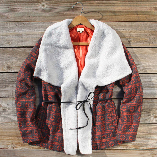 Snow Drift Sherpa Coat: Featured Product Image