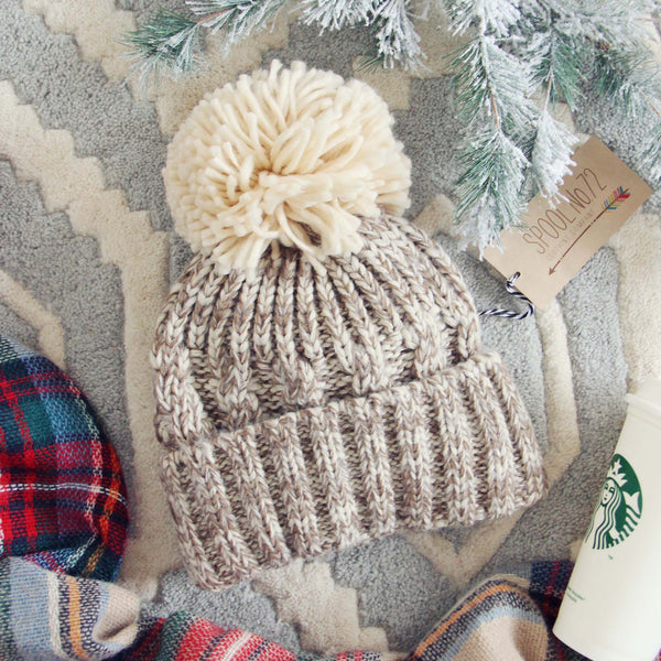 Snow Globe Cozy Beanie: Featured Product Image