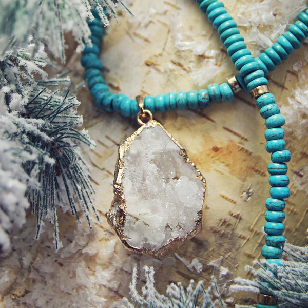 Snow Gypsy Necklace: Featured Product Image